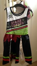 Fancy Dress -scare Leader, Pirate Cheerleader Outfit. Age 5-6yrs. New