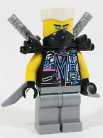 NEW LEGO NINJAGO ZANE DISGUISE MINIFIGURE 70640 - SONS OF GARMADON SNAKE JAGUAR