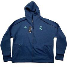 Adidas Men's Real Madrid 2019-20 ZNE HD 3.0 Training Jacket Size 2XL DX8699
