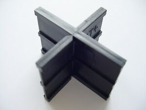 ABSTANDHALTER 'RT 4' für 4 mm T/X-Fugen/Rasenfugen/Betonpflaster (VE: 1.000 Sk.)