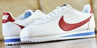 Nike W Classic Cortez Leather - New Women's Fashion Shoes Red White Blue