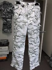 L SNOW CAMO,SKI-SNOWBOARD PANTS,L olive,lots of pockets & features