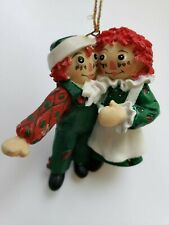 Raggedy Ann and Raggedy Andy 1998 Christmas Tree Ornament Target