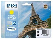 Cartuchos de tinta amarilla compatibles para impresora Epson