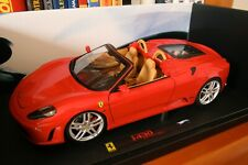 Ferrari F430 Spider Hot Wheels Elite Série limitée 1/18 Etat neuf en boite!