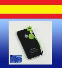 Lente ampliación fotos ANCHO OJO DE PEZ macro iphone samsung smartphone camara
