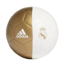 Adidas Real Madrid Capitano Soccer Ball DY2524 - White/Gold (NEW) Lists @ $20