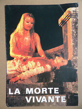 LA MORTE-VIVANTE - THE LIVING DEAD GIRL - JEAN ROLLIN - SYNOPSIS HORREUR