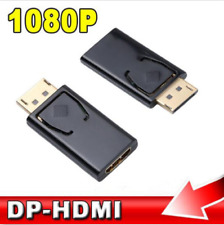 Useful Display Port DP Male To HDMI Female Adapter Converter For 1080P HDTV PC