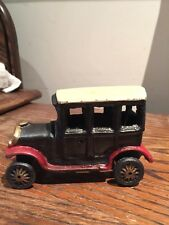 """Toy  cast iron Ford Coupe toy car. 5-1/4"""" inch"""