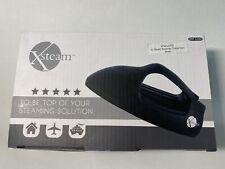 Xsteam Garment Steam Professional Iron Steamer Travel Size Black NEW FREE SHIP