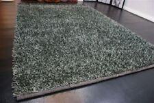 nr 5114 Langflor Hochflor Teppich Shaggy ca 230 x 160 cm Neu Anthrazit Viscose