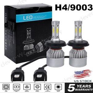 9003/H4 CREE LED Headlight Conversion Kit High/Low Beam 6000K White Light Bulbs