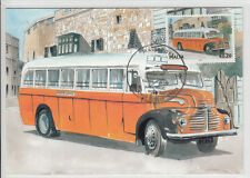 Maxi Card Malta Buses Bus - The end of an Era - Leyland Comet