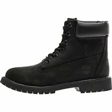 GS Shoes Timberland 6 Inch Premium Waterproof Boots 12907 Black Brand New