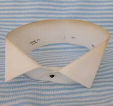"""Vintage Harrods wing collar 16"""" Starched stiff for tunic shirt 1920s dress wear"""