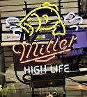 RARE Miller High Life Neon Sign