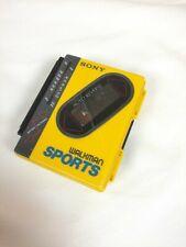 Sony Sports Walkman Wm-F75 Portable Cassette Player Repair Parts yellow tape not