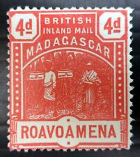 MADAGASCAR 1895 SG58 4d Cat £15 No Gum NS540