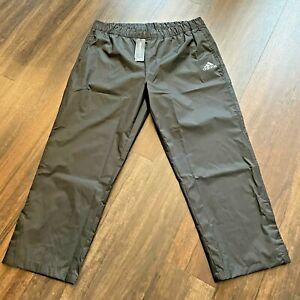 Adidas NWT Men's Size XL Regular Black Golf Rain Pants ClimaStorm CY7445 NWT $70