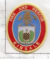 Ireland -  Kinsdale Fire & Rescue Fire Dept Patch v2
