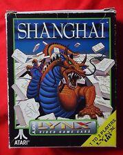 Shanghai (Mahjong) - boxed incl manual - Atari Lynx - 1990 - PA2063