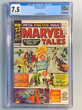 Marvel Tales 2 - CGC 7.5 - 1965 - Reprints: Avengers 1 X-Men 1 Strange Tales 115