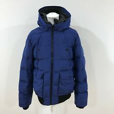 Tommy Hilfiger ROYAL BLUE PADDED tampon Jacket Outdoor Mens size UK XL 52173