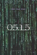 Matrix Reloaded - original movie poster 27x40 Advance Holofoil B