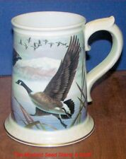 Franklin Mint Porcelain 1983 THE CANADA GOOSE Stein! LARGE BEAUTIFUL PIECE!
