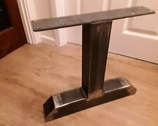 2 INDUSTRIAL VERY HEAVY DUTY!! METAL TABLE COFFEE BENCH DESK LEGS