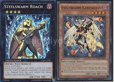 Yugioh Steelswarm Tournament Deck - Evilswarm Ophion - Girastag - NM - 44 Cards