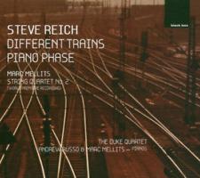 Duke Quartet - Steve Reich - Different Trains / Piano Phase / Marc Me CD (2008)