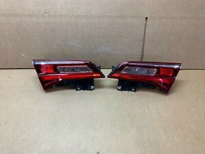 OEM 2016 2017 2018 ACURA ILX TAIL LIGHTS LEFT AND RIGHT INNER TRUNK MOUNTS NICE!