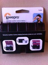 Lowepro Custodia in pelle fotocamera piccola/o per immagazzinare/distacco oggetto di piccole dimensioni-NUOVO