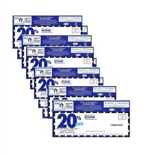 Lot of fifty (50) coupons Bed Bath and Beyond. IN-STORE/ONLINE