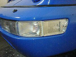 PORSCHE 911 964 COMPLETE SET CLEAR FOG + INDICATOR LIGHT LENSES FRONT 10 PIECES