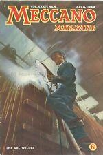 1949 APRIL 33598  Meccano Magazine Cover Picture  THE ARC WELDER