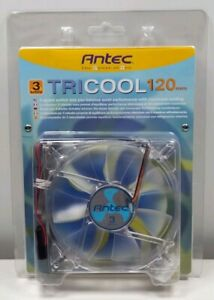 Antec 3-Speed TriCool 120mm PC Case Cooling Fan