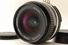 [NEAR MINT] Nikon Nikkor Ai 20mm F/3.5  MF Lens from japan #63