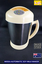 NEW Midea Fully Automatic Stainless Steel Soy Milk Maker OZ Standard 1.5L B13-SA