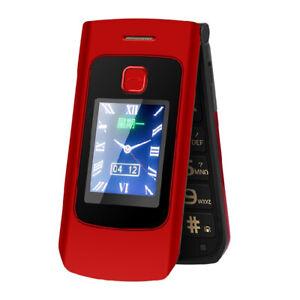 Dual-Screen Flip Mobile Phone Dual Sim GSM Senior Big Push-Button Phone