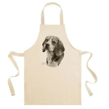 Mike Sibley Beagle Dog Breed Cotton Drill Bib Apron Cook/Chef/Dog Lover Gift