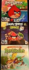 Angry Birds 3 Pack PC Games Windows 10 8 7 XP Computer 1, seasons, space, piggie