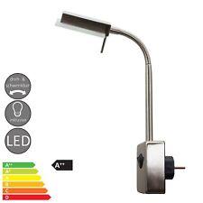 SD8015 Steckdosenleuchte mit Schwanenhals, 4,9 W Power LED,Flexleuchte,Leselampe