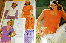 Maschen Chic für sie und ihn  Burda 1982 Stricken Strickheft Handarbeitsheft