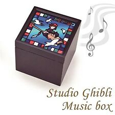 Studio Ghibli Stained Glass Style Music Box Kiki's Delivery Service Japan Anime