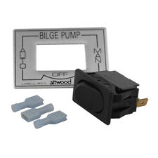 Attwood 3-Way Auto/Off/Manual Bilge Pump Switch