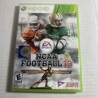 NCAA Football 13 (Xbox 360) Video Game Free Ship Good Condition