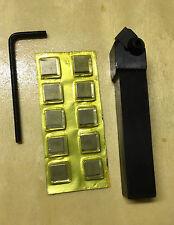 Wendeplattenhalter Schaft  16 mm  mit 11 Platten